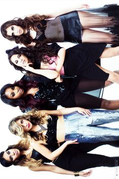 Fifth Harmony-Dinah Jane Hansen, Allyson Brooke Hernandez, Normani Kordei Hamilton, Karla Camila Cabello, and Lauren Michelle Jauregui