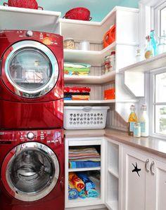 laundry room set up?