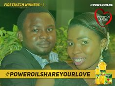 POWEROIL CREATES A NITE OF ROMANTIC EXPERIENCE WITH FIRST BATCH OF #POWEROIL SHARE YOUR LOVE WINNERS