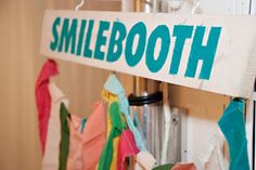 -great party idea with a camera booth for fun shots of quests