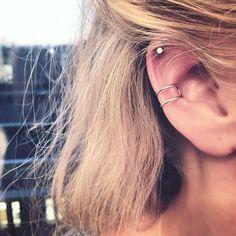 "YAKAMOZZ ☾ on Instagram: ""BRAND NEW • EMBRACE • ear cuff [ 12€ ] no piercing needed - the pain free earring clip ☺️ shop now @ yakamozz.com #ykmzz #silver #earcuff #earrings #jewelry #jewellery #style #love #girl #fashion #piercing #accessories #lookbook #ootd #potd #botd #styles #blogger #fashionista"""