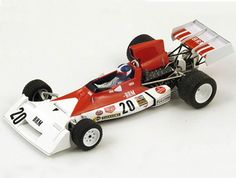 BRM P160 E (JeanPierre Beltoise - Canadian GP 1973) Diecast Model Car by Spark S1856