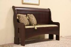 Image result for repurpose sleigh bed