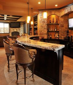 Things to Consider When Building a Home Bar