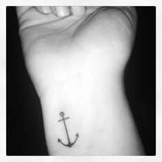 My tattoo #anchor #sturdy #weatherthestorm
