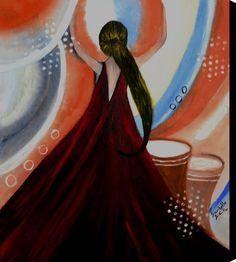 Love to dance 1 - Saribelle Inspirational Art