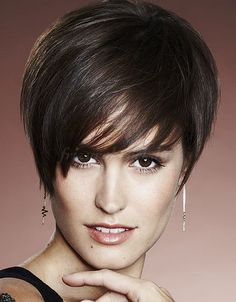 Today we have the most stylish 86 Cute Short Pixie Haircuts. We claim that you have never seen such elegant and eye-catching short hairstyles before. Pixie haircut, of course, offers a lot of options for the hair of the ladies'… Continue Reading → Short Wavy Pixie, Short Pixie Haircuts, Hairstyles Haircuts, Trendy Hairstyles, Short Hair Cuts, Short Hair Styles, Medium Hairstyles, Pixie Cuts, Pixie Bangs