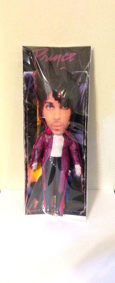 Prince Purple Rain Stuffed Star toy Custom by StuffedStarsDotCom