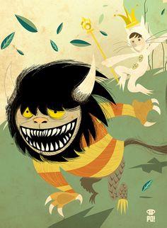 MiniImprenta Monstruos by PO!!