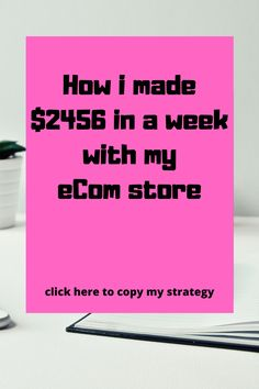 Copy my eCom store success strategy by clicking the link below Make Money Online, How To Make Money, Copy Me, Money Affirmations, Extra Cash, Ecommerce, Success, Passive Income, Store