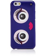 kate spade new york Jeweled Monster iPhone 7 Case (89 BAM) ❤ liked on Polyvore featuring accessories, tech accessories, purple multi and kate spade