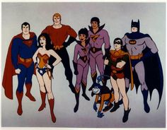 "Super Friends - (loved those wonder twins - ""wonder twin powers activate"")"