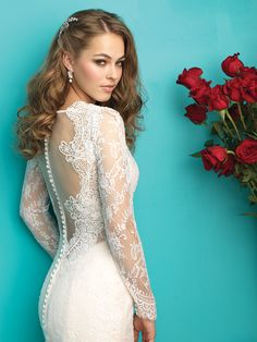 Allure Bridal #9260 www.iowabridesandweddings.com