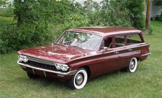 1961 OLDSMOBILE F-85 STATION WAGON - Barrett-Jackson Auction Company - World's Greatest Collector Car Auctions