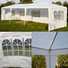 10 X30 Party Wedding Outdoor Patio Tent Canopy Heavy Duty Gazebo Pavilion Patio Tents Canopy Tent Party Tent