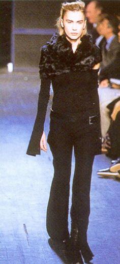 Ann Demeulemeester A/W 2001
