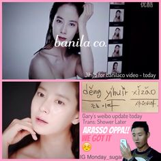 At the same time!! For more update please visit our instagram account monday_sugar #mondaycouple #runningman #kanggary #songjihyo