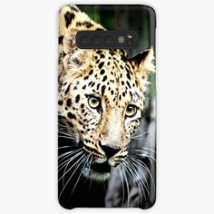 'Leopard iPhone Case' Case/Skin for Samsung Galaxy by DAM Creative Galaxy Phone Cases, Iphone Cases, Samsung Galaxy, Phone Case Websites, Phone Case Maker, Leopard Animal, Iphone Wallet, Protective Cases, Wildlife