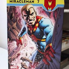 #Miracleman #7 #Alan #Moore #Marvel #Comics #Super #Hero #Quadrinhos #HQs