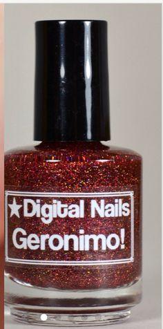 Etsy DigitalNails Geronimo! Nail color $10