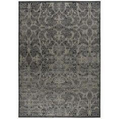 @Overstock - With the wonderful texture of high-low loop pile and flawless hand carving, this exquisite area rug is the epitome of elegance. Its tone-on-tone damask design is anything but basic in bewitching black and ultra-chic charcoal.http://www.overstock.com/Home-Garden/Graphic-Illusions-Moasic-Grey-Rug-79-x-1010/7108633/product.html?CID=214117 $412.99