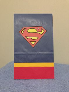 Superman birthday party/treat bags
