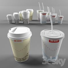 Cups for hot and cold drinks