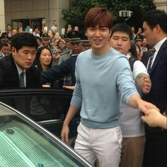 04/18/15 - Lee Min Ho in Xiamen, China