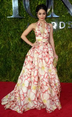Vanessa Hudgens continues her flawless fashion streak at the Tony Awards!