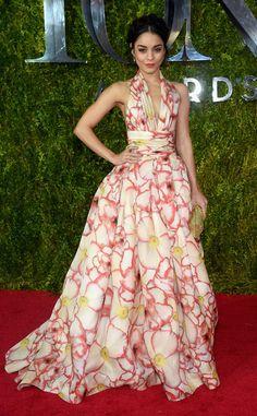 Vanessa Hudgens from 2015 Tony Awards Red Carpet Arrivals | E! Online