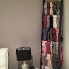 Scarf ladder- practical yet stylish!