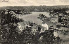 Aust-Agder fylke Arendal KILSUND. NOEN HUS OG INDUSTRI. Norsk Kortforlag tidlig 1900-tall