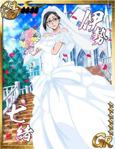 A collection of cards from Bleach Bankai Battle.