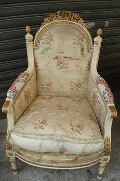 Vintage French Chair - Paris Flea Market