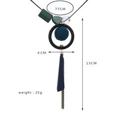 Match Right Women Maxi Necklaces Pendants Statement Long Necklace with Round Pendant for Women Jewelry SP099. Click visit to buy #PendantNeklace