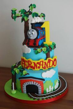 You can read my disclosure policy here . I hope you enjoy these amazing TRAIN / THOMAS THE TRAIN i. Cake Decorating Designs, Cake Designs, Decorating Ideas, Cake Cookies, Cupcake Cakes, Thomas Cakes, Fashion Cakes, Cakes For Boys, Cookie Desserts