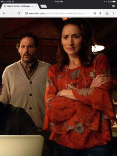 I love this blouse worn by Rosalee on Grimm, anyone know where it's from?