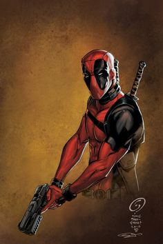 Deadpool by Tim Bradstreet