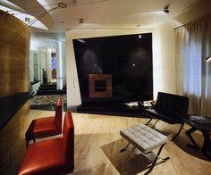 moderné interiéry, izba nábytok, umelecké diela, obrazy a dekoru v suprematist štýle