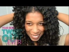 "How To Get Your Best Twist Out Ever ""Natural Hair""...this is Naptural85 on You Tube-LOVE HER!! Great styles and tips that I have used on both mine and my daughter's hair. ♥♥♥"