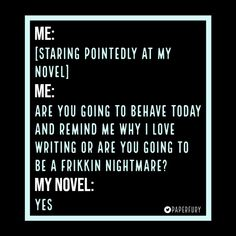 Interrogating My Novel - Writers Write Writing Humor, Writing Advice, Writing Help, Writing A Book, Writing Prompts, Creative Writing Quotes, I Am A Writer, A Writer's Life, Writers Write