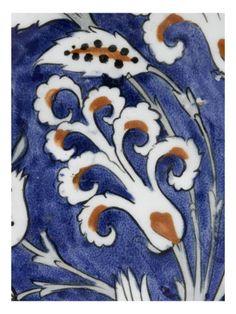 Plat au bouquet de jacinthes - Musée national de la Renaissance (Ecouen)