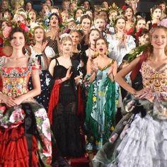 Dolce & Gabbana's Alta Moda show