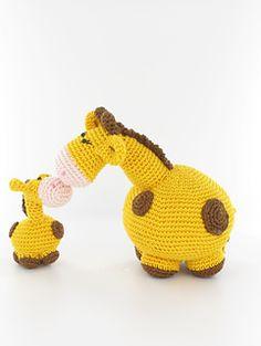 Ravelry: Woolytoons giraffe family pattern by Tessa van Riet-Ernst