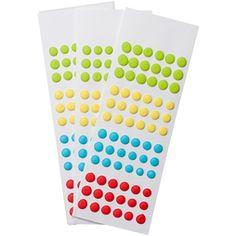 Sour Mega Candy Buttons Sheets: 3-Piece Pack