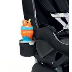 Peg Perego Car Seat Cup Holder, tested and approved for use with the Primo Viaggio Convertible and Primo Viaggio SIP Convertible Car Seat. The Car Seat Cup Holder lets little ones keep their drink close by and securely attaches to the side of the Peg Perego Car Seat, Rock N Play Sleeper, Car Seat Accessories, Baby Accessories, Belly Bars, Bottle Sizes, Prams, Used Cars, Convertible