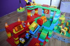 The Train Station by Felix in June 2015 #Duplo #Lego #Building