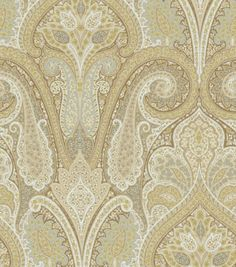 Home Decor Upholstery Fabric-Waverly Cashmere / Pearl  Soft tones and great price - 1/2 the usual.