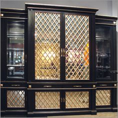 Wellington Display Cabinet by Phyllis Morris