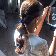 20 stunning wedding hairstyles ideas – My hair and beauty Ponytail Hairstyles, Bride Hairstyles, Pretty Hairstyles, Pelo Princesa Disney, Bridesmaid Hair, Gorgeous Hair, Hair Looks, Hair Trends, Her Hair